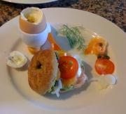 Breakfast plate sampler