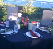 Dinner by the Sea