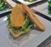 Nalo farm baby Romaine caesar salad, parmesan crisp