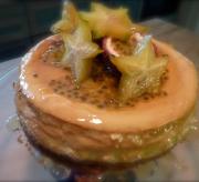 Tropical fruit mascarpone cake